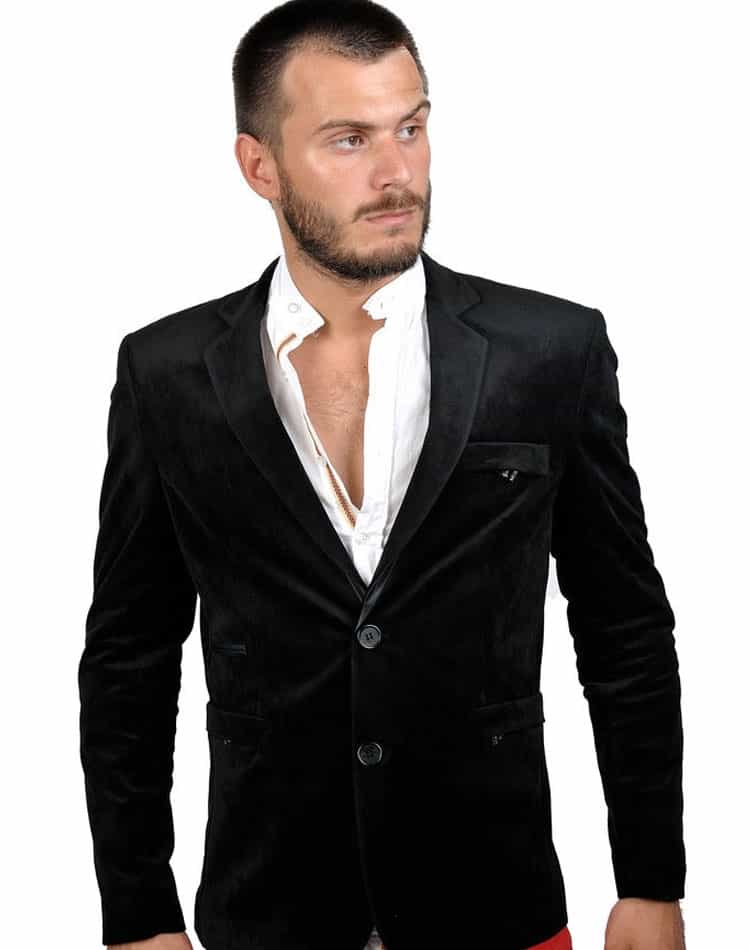 RNT23 Jeans-Blazer- Black Blazer 5204