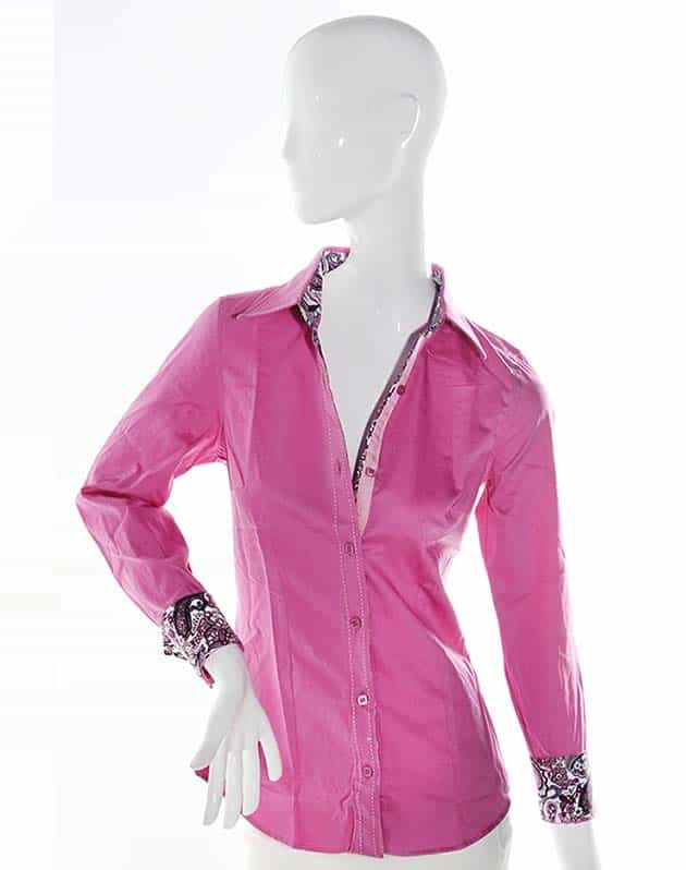 Gallery For > Pink Dress Shirts For Women