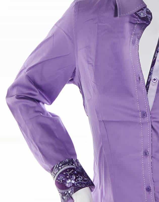 envy women shirt  w51014 purple